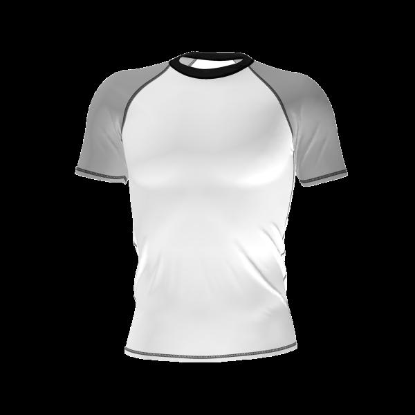 custom anti uv rashguard short sleeve