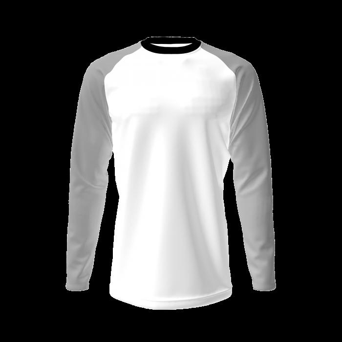 custom anti uv bioceramic t-shirt long sleeve